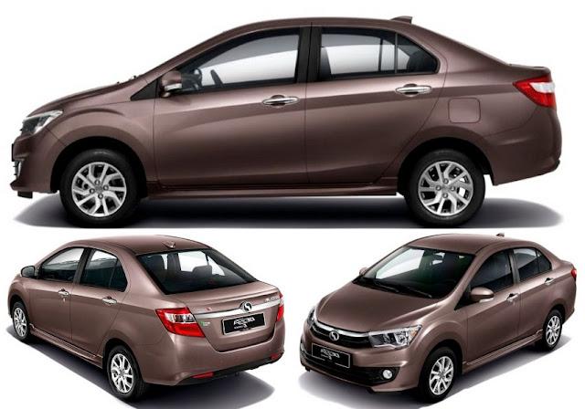 Kereta Compact Sedan Popular di Malaysia - Perodua Bezza
