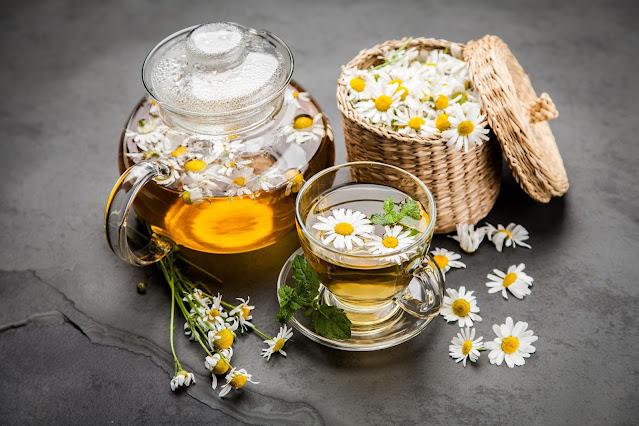 Trà hoa cúc giúp hỗ trợ gan hoạt động tốt