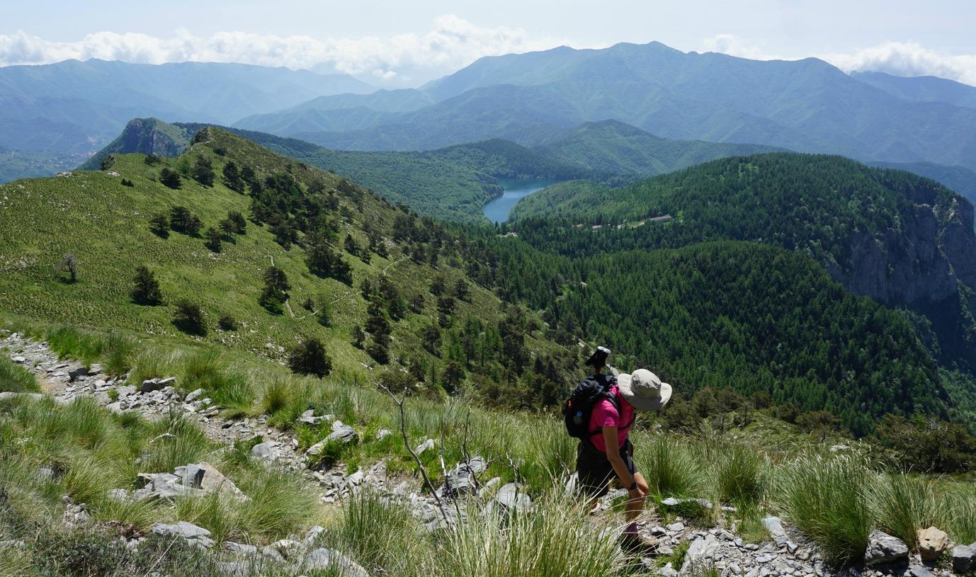 Trail near Refuge Grai