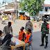 Kodim Barabai Dukung Operasi Penegakkan Hukum Dan Disiplin Protkes