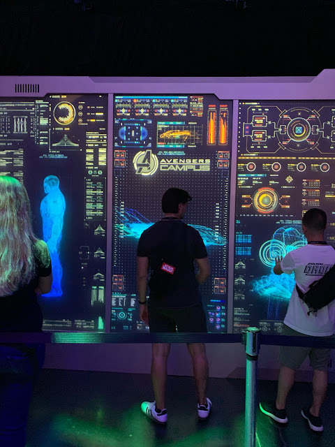 D23 Expo 2019 Marvel attractions, Disneyland Avengers Campus, Spider-Man WEB