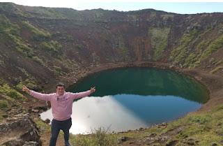 Kerið Cráter. Islandia, Iceland.