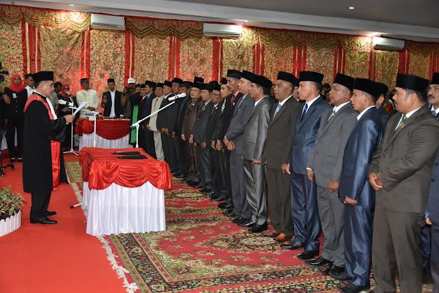 DPRD Padangpariaman Surati Tiga Parpol Segera Ajukan Pimpinan Dewan Definitif