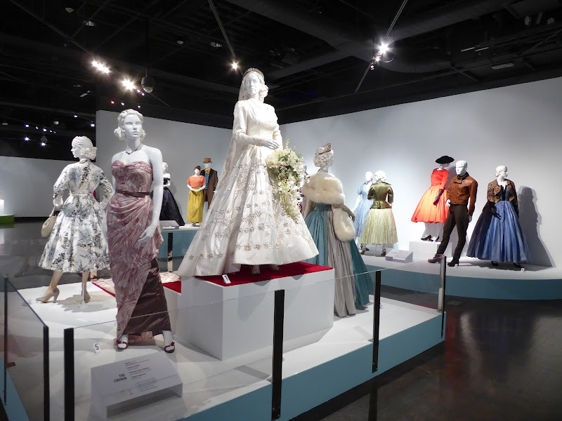 Crown costumes FIDM Museum LA