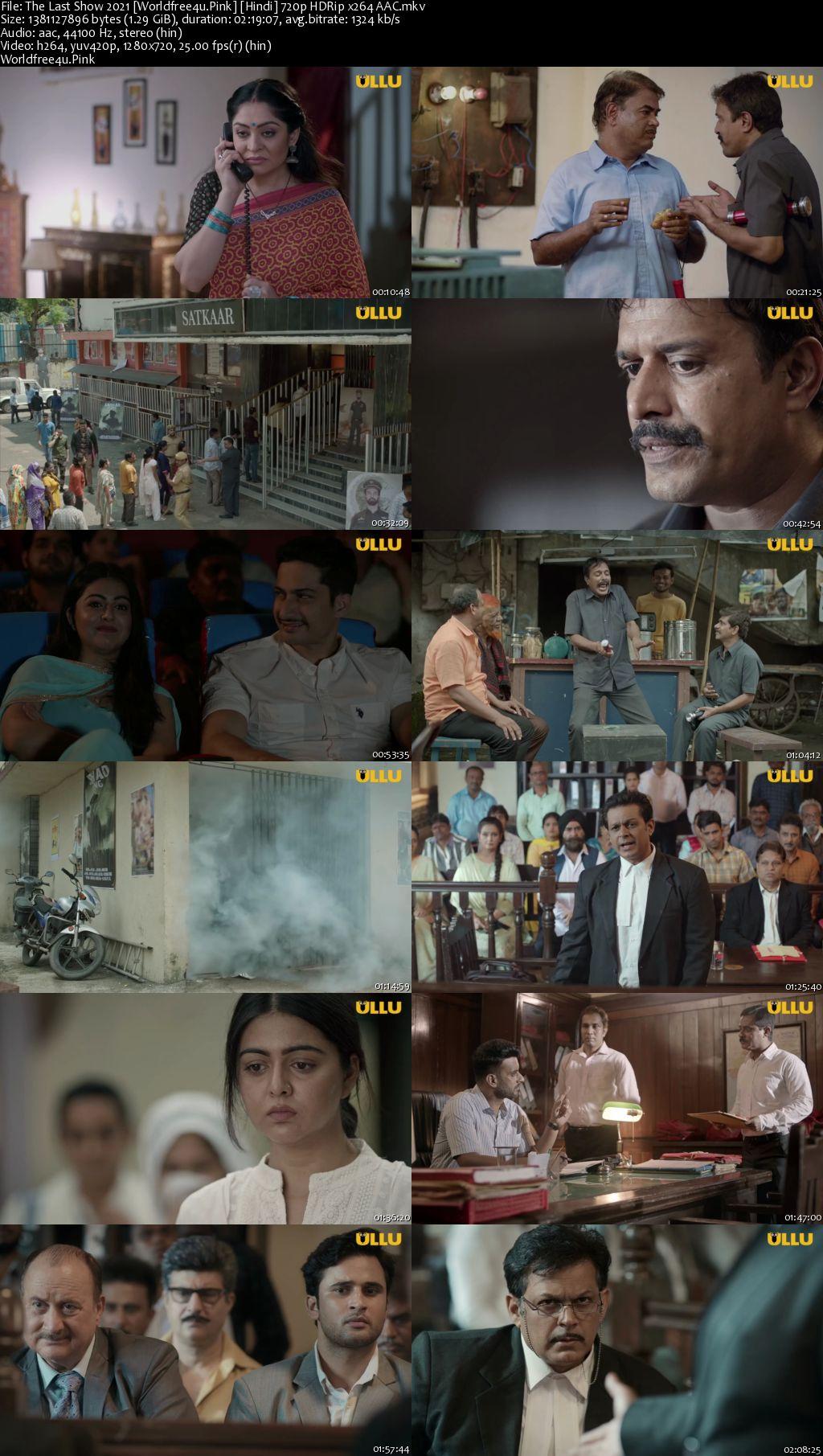 The Last Show 2021 Hindi HDRip 720p
