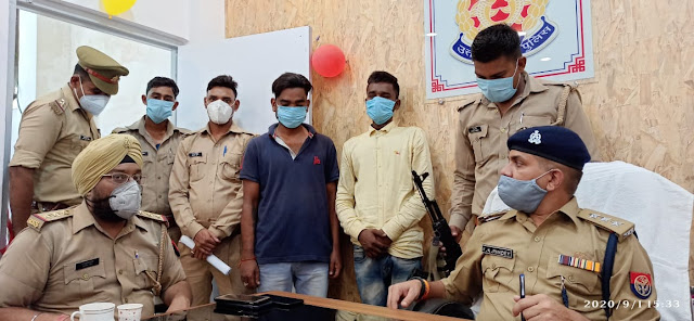 कानपुर नगर के थाना बर्रा पुलिस द्वारा 2 शातिर चोरों को गिरफ्तार किया