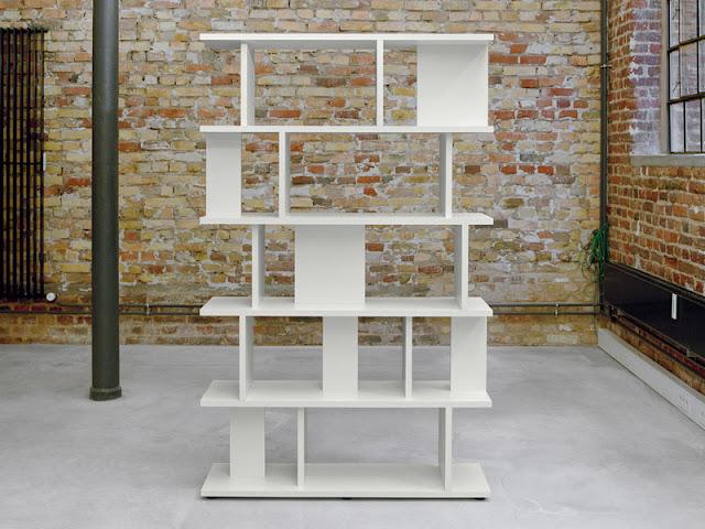White Shelf Fiberboard System Arie by e15 White Shelf Fiberboard System Arie by e15 E15 SH05 Arie Shelving System White