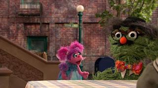 Abby Cadabby, Oscar the Grouch, Sesame Street Episode 4315 Abby Thinks Oscar is a Prince season 43