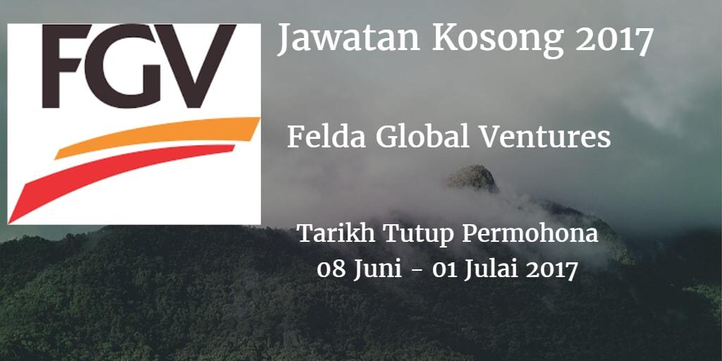 Jawatan Kosong FGV 08 Juni - 01 Julai 2017