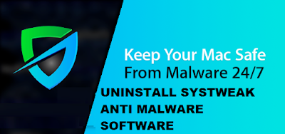Uninstall Systweak Anti malware