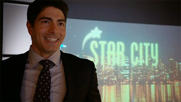 Brandon Routh en Arrow 3x01