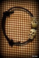Lovelea's 2 skull bracelet