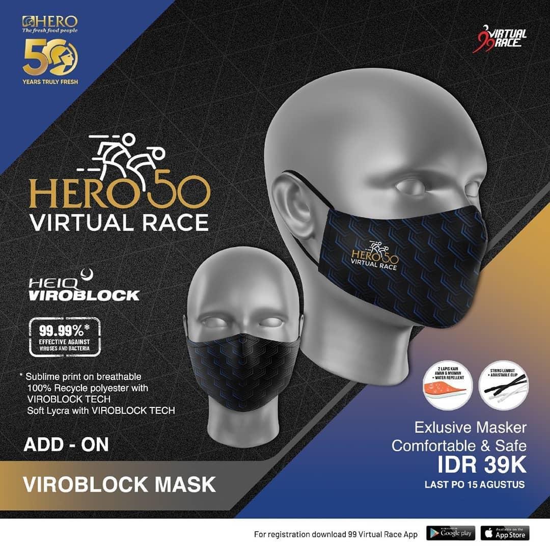 Masker 😷 Hero 50 Virtual Race • 2021