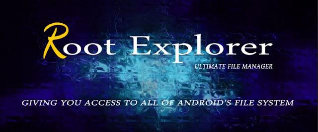 تحميل تطبيق Root Explorer المدفوع لتصفح ملفات النظام اخر اصدار