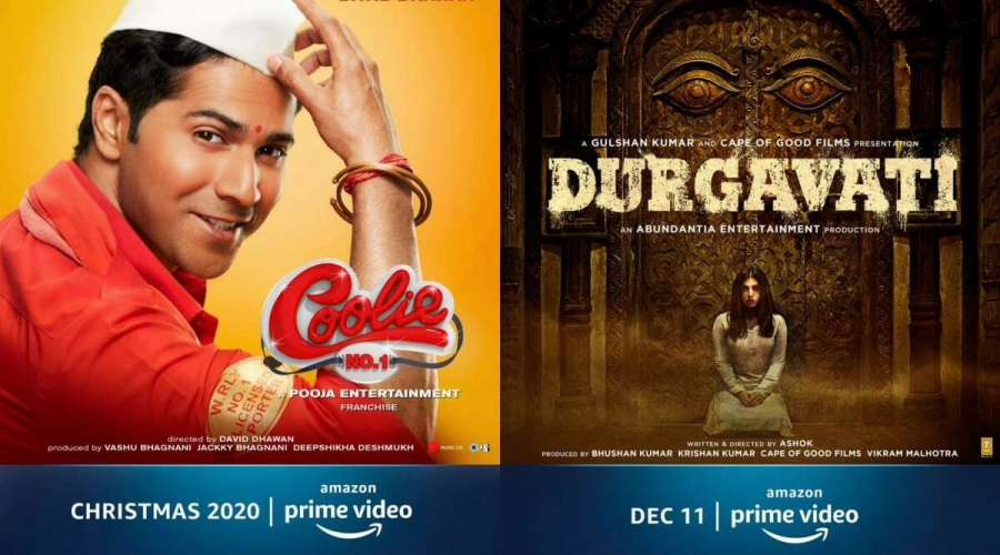 Coolie No 1 Durgavati and Chhalaang Release in Amazon Prime Video