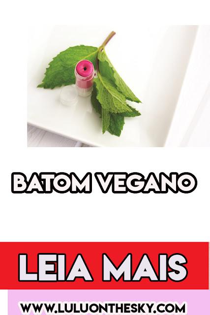 Aprenda fazer seu próprio batom caseiro vegano