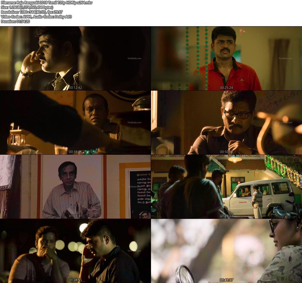 Raja Ranguski 2018 Tamil 720p HDRip x264 | 480p 300MB | 100MB HEVC Screenshot