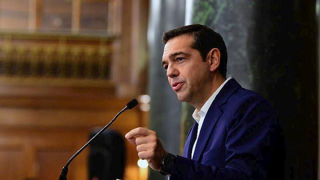 Τσίπρας για Σκόπια: Δεν είναι παράλογο να περιέχεται το «Μακεδονία» στο όνομα -Και εγώ μισός Μακεδόνας είμαι