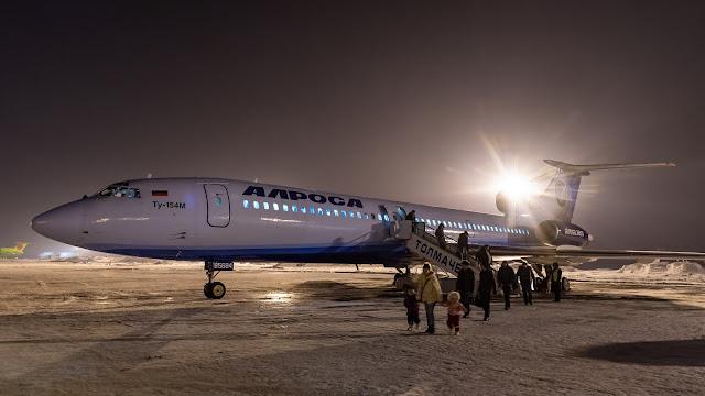 アルロサ航空 Tu-154 RA-85684 Авиакомпания АЛРОСА Ту-154