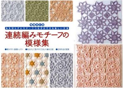 Estilos de puntos-motivos japoneses. Revista