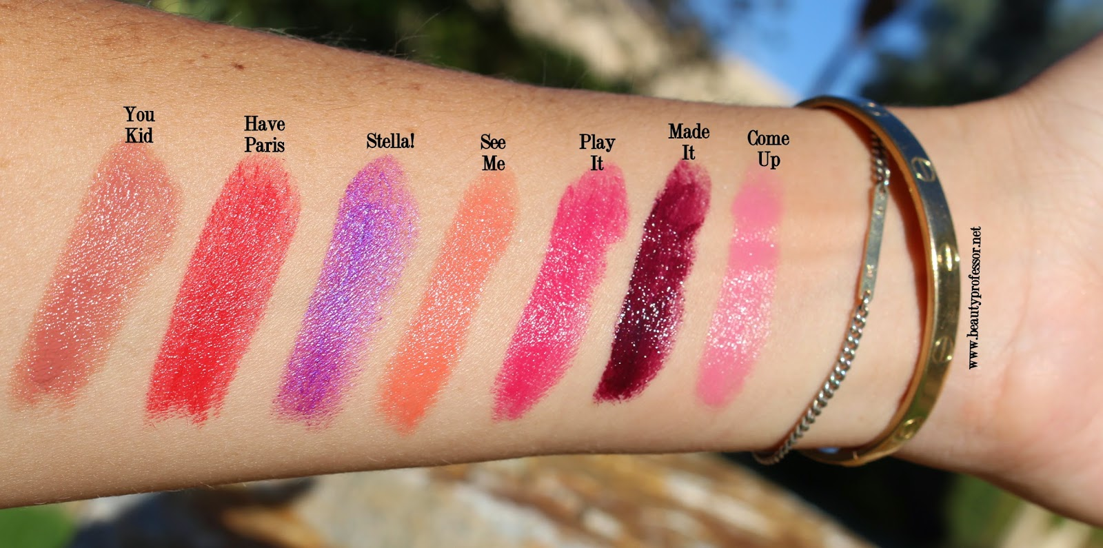 An Interview with Lipstick Queen Poppy King + Swatches of the ...