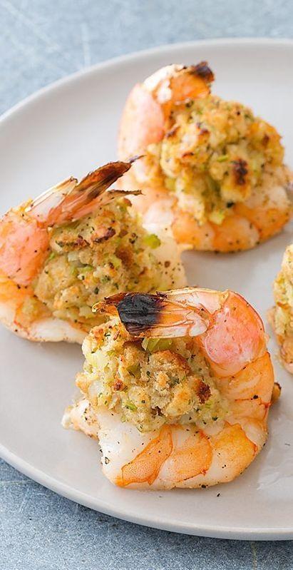 Oven Baked Stuffed Shrimp Recipe