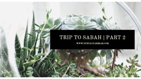 COMPANY TRIP KOTA KINABALU DAN KUNDASANG, SABAH   PART 2