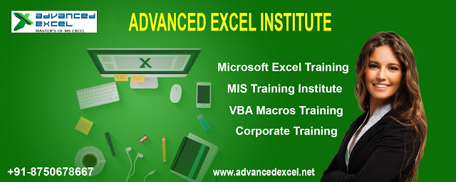 Excel Training in Gurgaon | Advanced Excel Training in Gurgaon : Advanced Excel Institute
