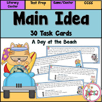 Main Idea Game or Center