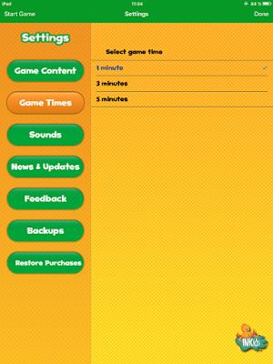 Futaba app flashcards multijugador en iPad configuracion