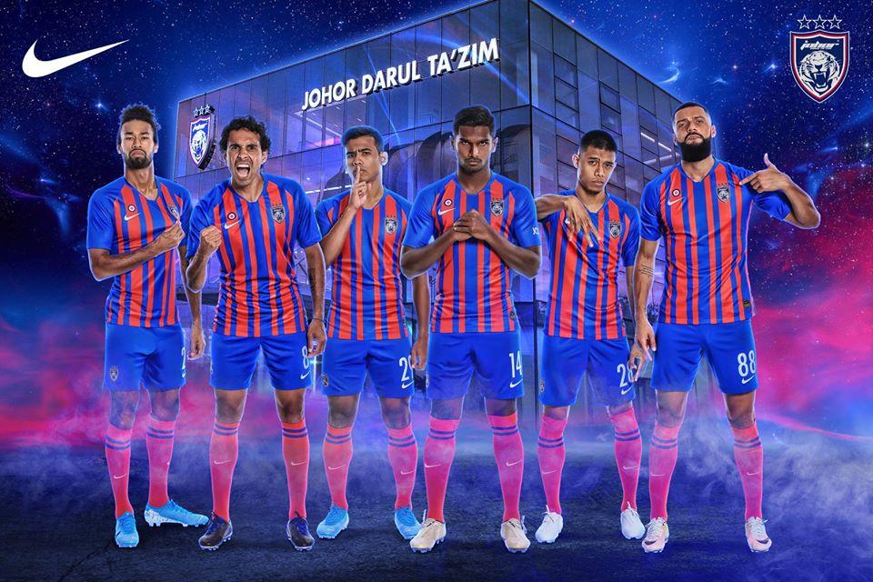 Johor Darul Takzim Nike Kits 2020 -  Dream League Soccer Kits