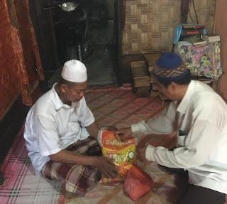 Lembaga GAMBAR Batu Bara Berikan Bantuan Kepada Bilal Mayit
