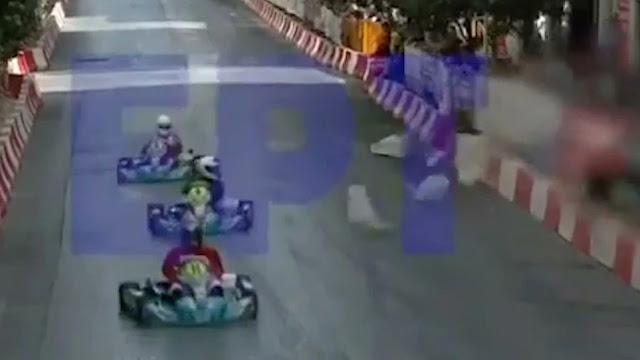 Σοβαρό τραυματισμός 6χρονου παιδιού σε αγώνα καρτ στην Πάτρα (βίντεο)