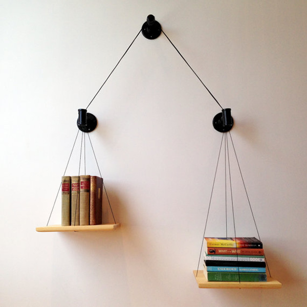 Prateleiras de livros!