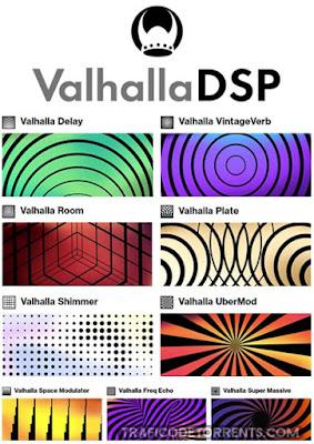 Cover Box dos Plugins Valhalla DSP - Bundle 2021.4
