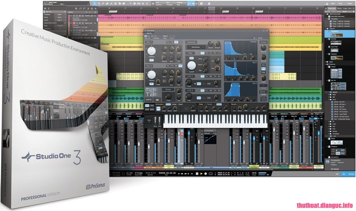 Download Studio One Pro 4.5.1.52729 Full Cr@ck