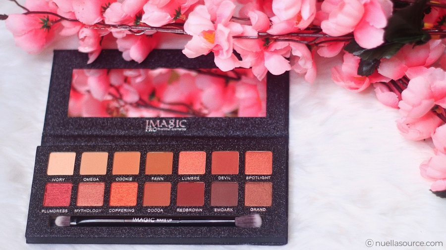 Imagic 14 color eyeshadow palette shades