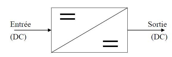 Convertisseur Continu (DC) - Continu (DC)