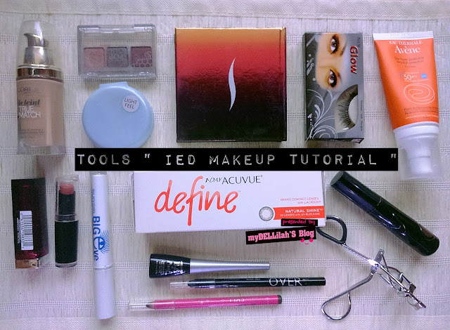 Soft Feminime IED Makeup Tutorial with 1 Day Acuvue Define Softlens