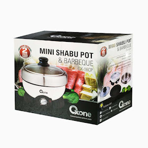 OX-16CP Oxone Mini Shabu Pot & Barbecue