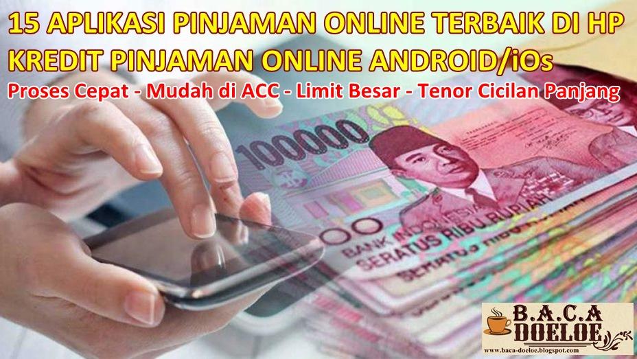 15 Aplikasi Pinjaman Uang Online Terbaik Di Hp Terbaru Baca Doeloe