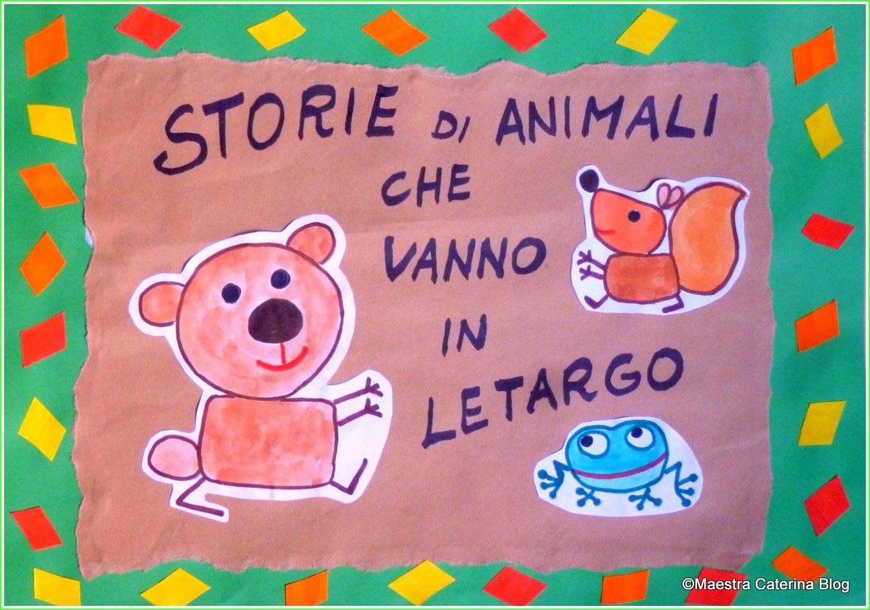 Maestra Caterina Storie Di Animali Che Vanno In Letargo