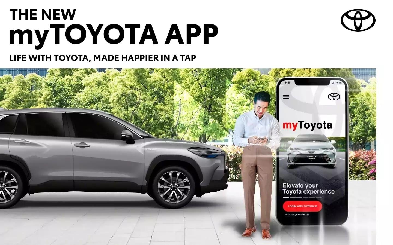 myTOYOTA: Toyota PH's upgraded app