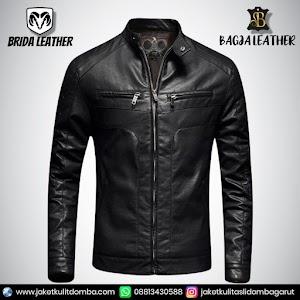 Jual Jaket Kulit Asli Garut Pria Domba Original Brida Leather B86 | WA 08813430588