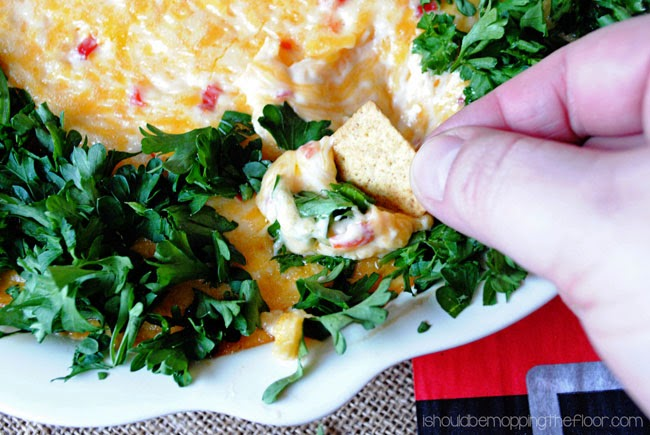 pimento cheese dip3 %2523shop 12 Simple Appetizers for New Year's Eve 38