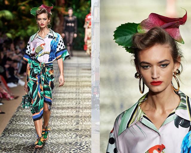 Dolce & Gabbana весна-лето 2020 Показ моды 10