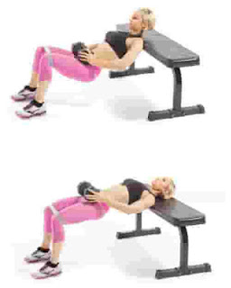 4. Dumbbell Hip Thrust