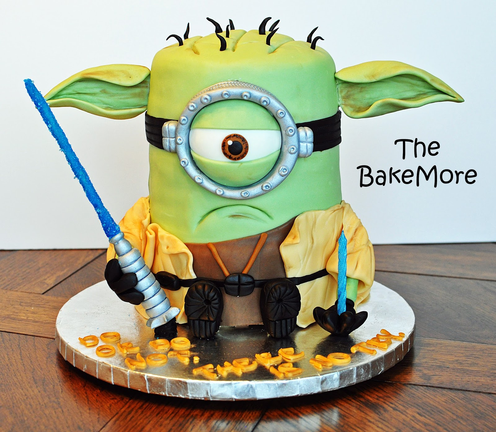 The Bake More Grumpy Yoda Minion Cake