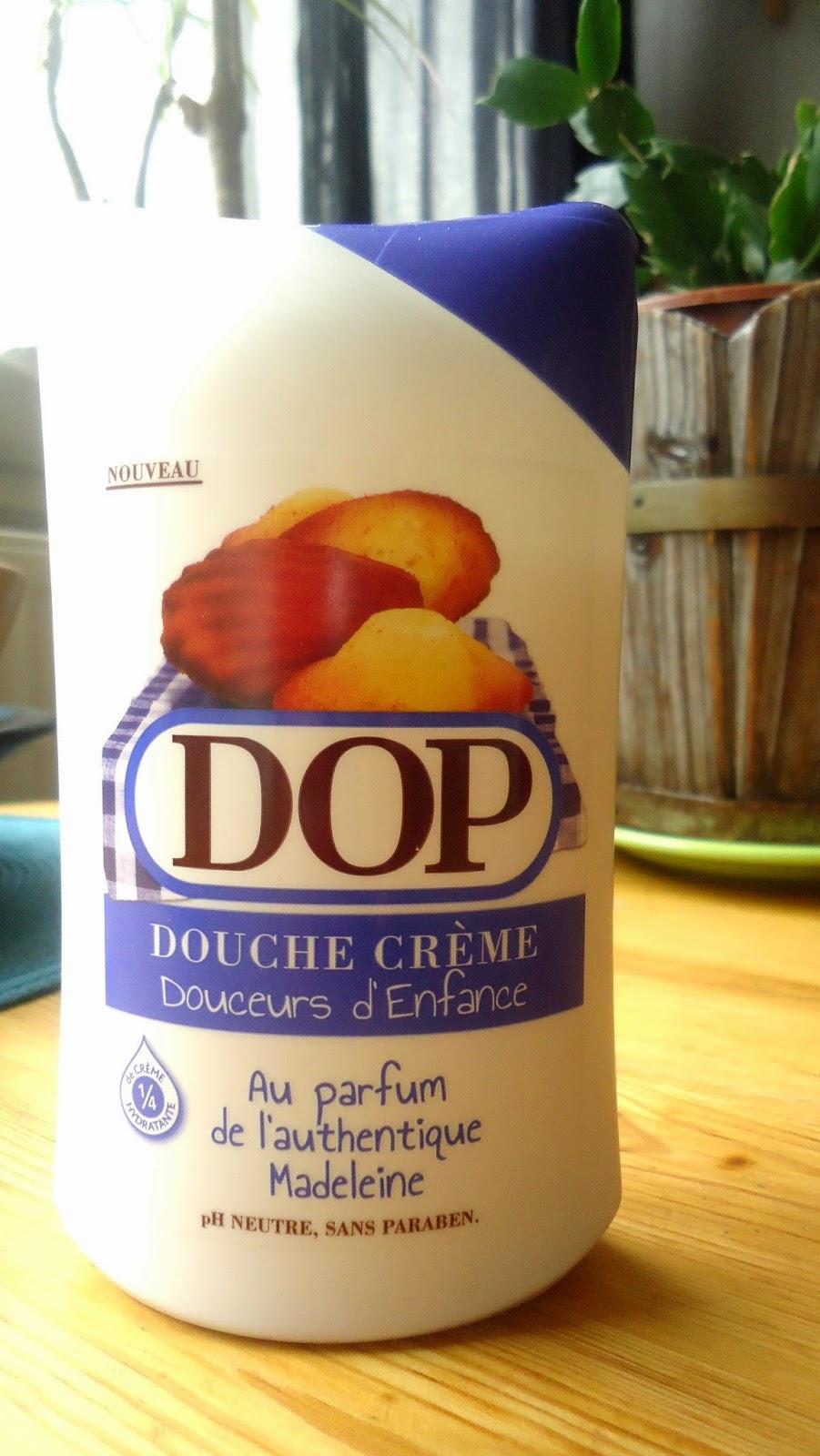 dop gels douche douceur d'enfance madeleine