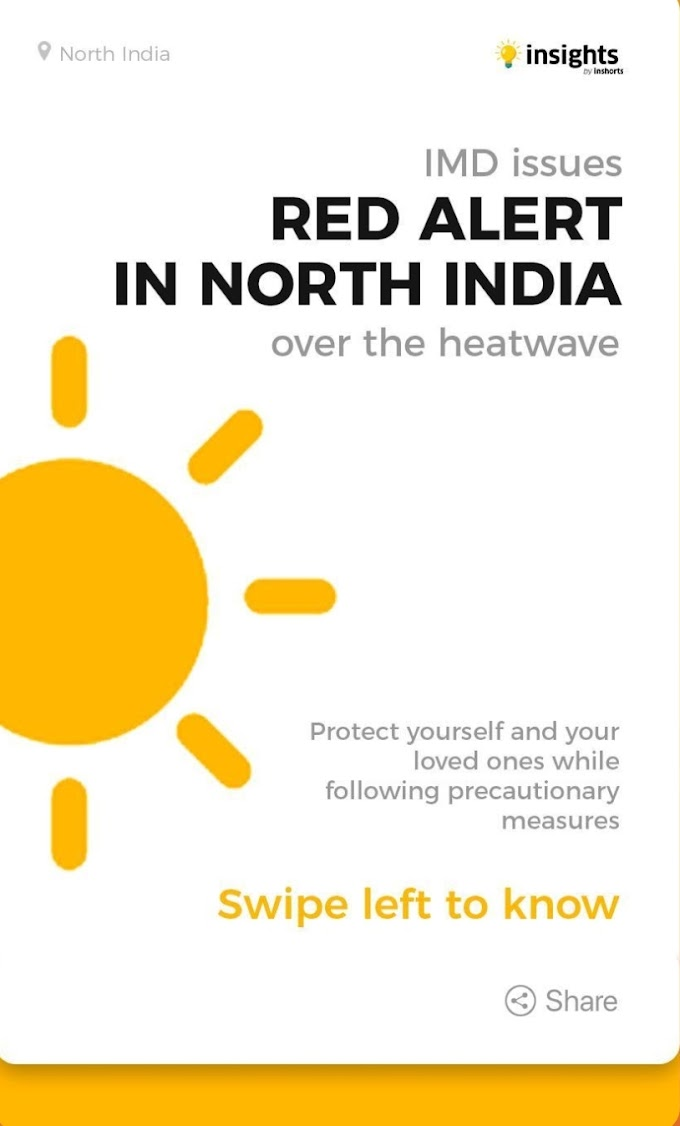 Red alert in Northern India over the Heatwave | IMD Issue | Heatwave Aleart
